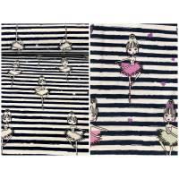 UV Magic Jersey mit Ballerina und Streifen Bild 1