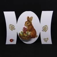 Osterkarte mit 3D-Motiv Bild 1