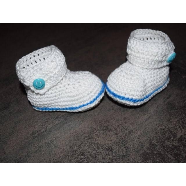Babyschuhe Stiefelchen 8,5 cm Bild 1