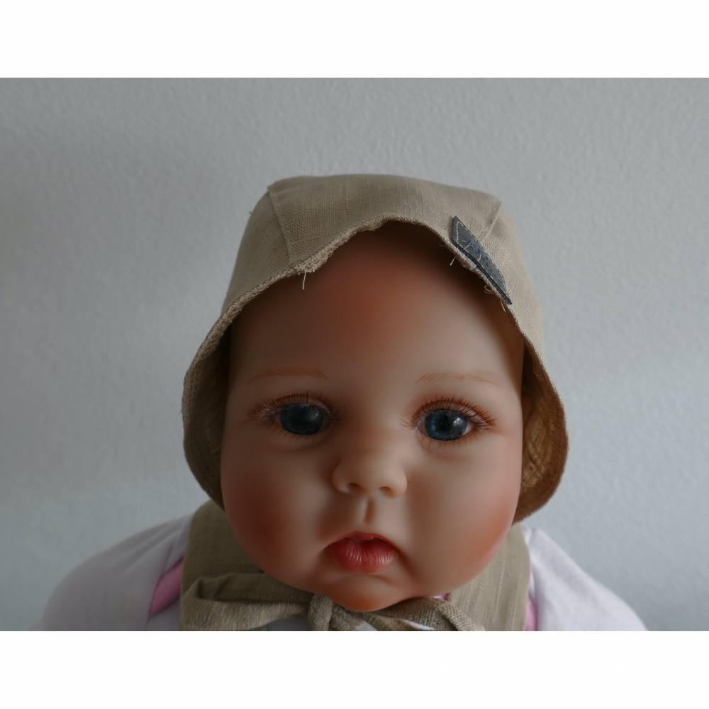 Leinen Mütze für Baby und Kleinkinder Bild 1
