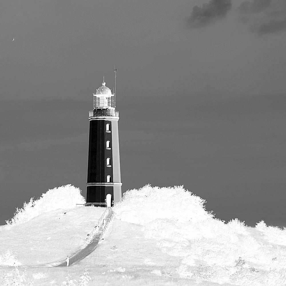 Leuchtturm Dornbusch Fotografie Kunstdruck Hahnemühle FineArt Baryta Bild 1
