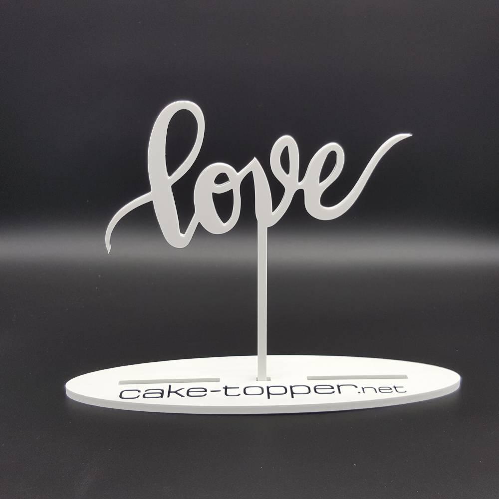Cake Topper love V1 Bild 1