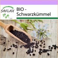 SAFLAX - BIO - Schwarzkümmel - 300 Samen - Nigella sativa Bild 1