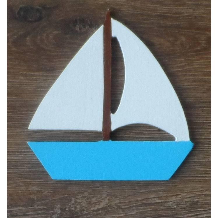 Segelboot, passend zu den Buchstaben Bild 1