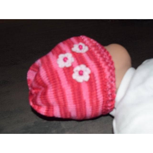 Mütze pink Gr. 62/68 Bild 1