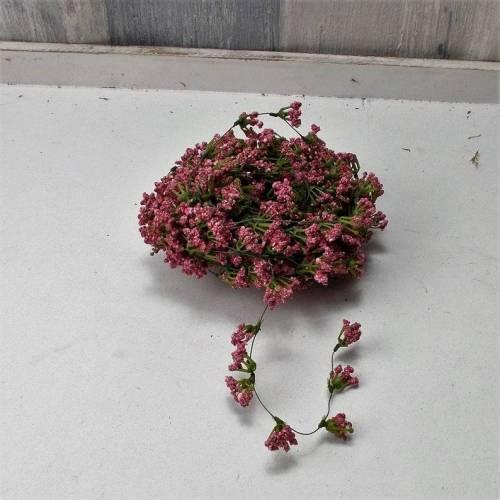 rosa Schleierkrautgirlande, 700cm,  Blütengirlande, Bastelmaterial, Floristenbedarf,