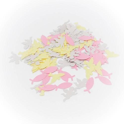 Pastell-Konfetti Fisch Taube Engel 600 Teile