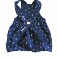 Musel Buxe Latzhose Anker blau/weiß 7 Bild 1