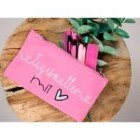 Stiftemäppchen für Erzieherin oder Tagesmutter mit Herz Bild 1
