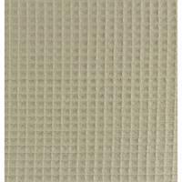 0,5 m Waffelpique / Waffelstoff UNI sand  Bild 1
