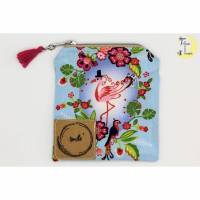 Mini-Täschchen Flamingo Bild 1