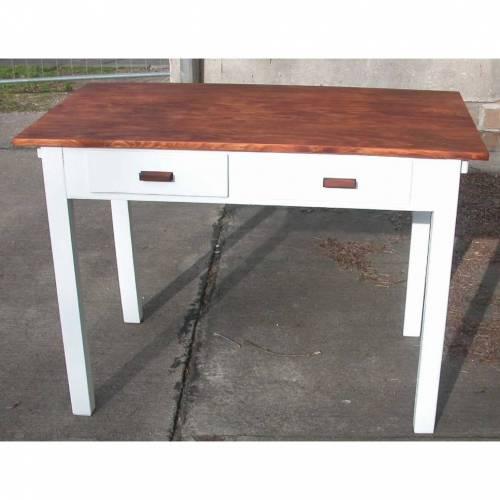 Küchentisch / Schreibtisch / Arbeitstisch aus den 50er jahren jetzt im Chabby Chic
