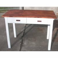 Küchentisch / Schreibtisch / Arbeitstisch aus den 50er jahren jetzt im Chabby Chic Bild 1