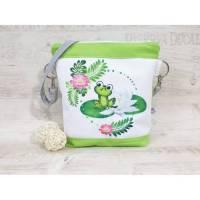 Kindertasche, Kindergartentasche Frosch 1 Bild 1