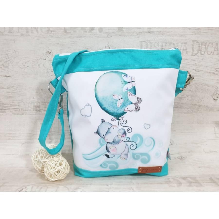 Kindertasche, Kindergartentasche Hippo 2 Bild 1