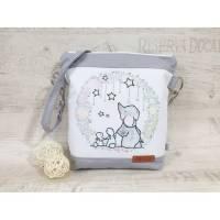 Kindertasche, Kindergartentasche Elefant, Hase, Sterne 6 Bild 1