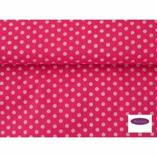 Stoff Punkte Punktestoff pink Swafing