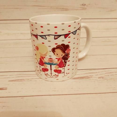 Tasse   Becher  Pott Tea Time