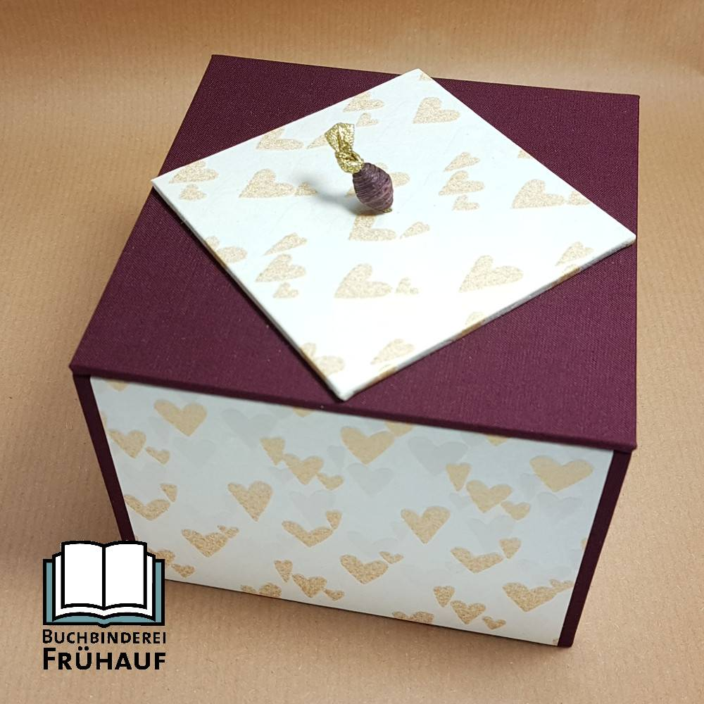 Kästchen zur Hochzeit Hochzeitsbox Erinnerungsbox Bild 1