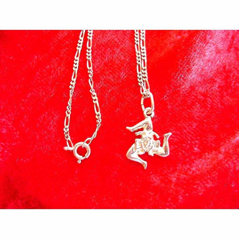 Vintage♥Halskette♥Harlekin♥aus 925 Silber♥aus den 80er Jahren♥  Bild 1