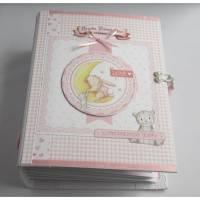 Babyalbum Mädchen Scrapbook Album  Bild 1