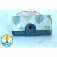 Portemonnaie Ruby - Platz für alles was Frau braucht - Blätter, grün Bild 1