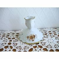 Vintage♥Kerzenständer♥Braune Blüten♥von Lindner Küps♥  Bild 1