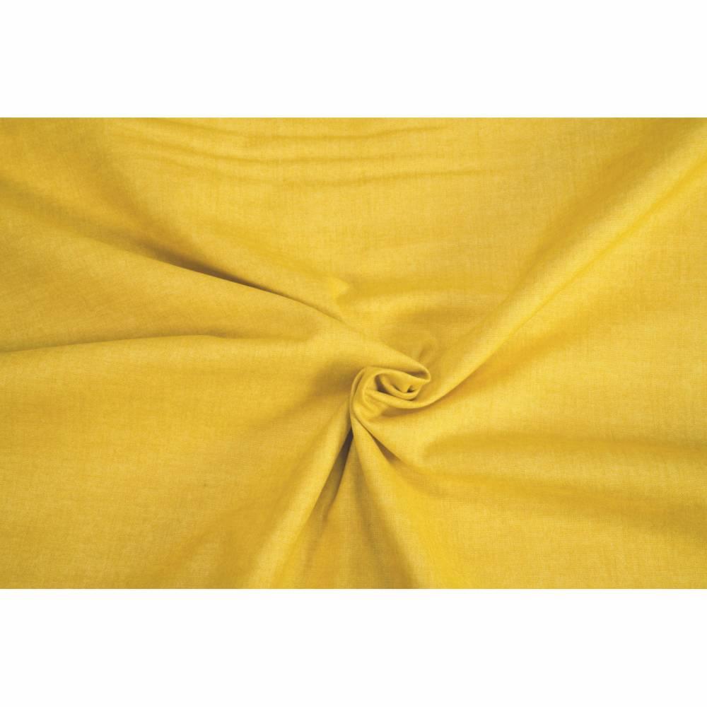 Patchworkstoff makower Linen Texture 60 Shades Sunflower 1473 Y4 0,5m  Bild 1