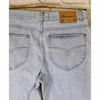 True Vintage 80er Jeanshose Remington Texco Größe W36 L32 Karotte Hellblau Washed Used Denim Jeans Hose Mom Style Bild 1