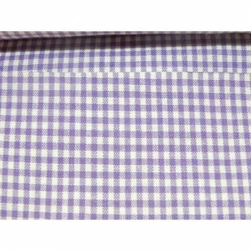 Vichykaro lila 2 mm Baumwolle Baumwollstoff Stoff