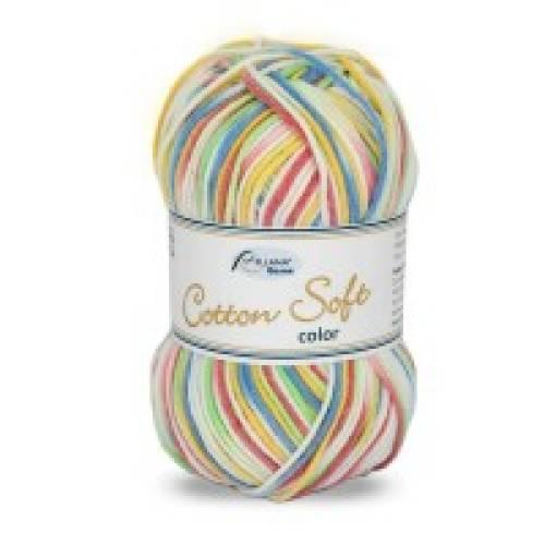 Strickgarn / Häkelgarn Cotton Soft color von Rellana