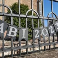 Girlande zum Abitur 2021 Wimpelkette aus Papier zum ABI Schulabschluss Abiball Abifeier Bild 5
