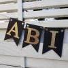 Girlande zum Abitur 2021 Wimpelkette aus Papier zum ABI Schulabschluss Abiball Abifeier Bild 7