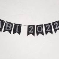 Girlande zum Abitur 2021 Wimpelkette aus Papier zum ABI Schulabschluss Abiball Abifeier Bild 8