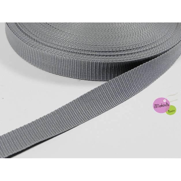 Gurtband 30 mm grau Bild 1