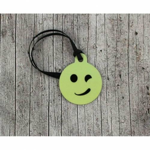 Anhänger **Schelm** von ZWEIFARBIG 3,2cm Glücksbringer Schlüsselanhänger Geschenk Einschulung Taschenanhänger Ausbildung Kindergarten Geburtstag