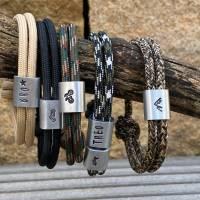 Herren Armband personalisiert mit Namen handgestempelt | Geschenk Mann | Bild 3