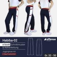 "Damen Jogginghose ""Habiba-02"" in Größe 32-50 - Schnittmuster + Schritt-für-Schritt Nähanleitung Bild 1"