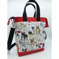 Crossbody-Bag Frenchie Französische Bulldogge French Bulldog Bild 1