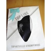 Vintage♥Strumpfhose Gr.40/42 mit Perlenbesatz♥aus den 80er Jahren♥ Bild 1