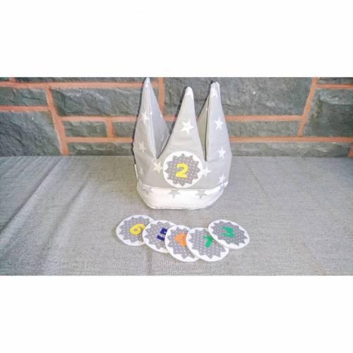 Geburtstagskrone 1-6 Jahre  Kindergeburtstag