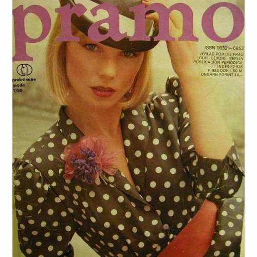 Pramo,Praktische Mode  1/80, Die Mode für Frühjahr und Sommer 1980 mit Schnittmusterbeilage