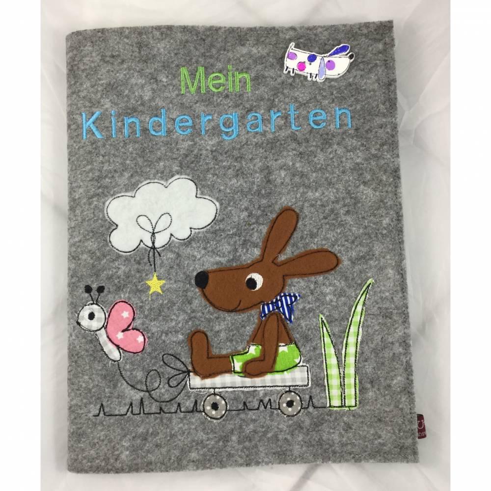 Personalisiertes Kindergartenalbum aus Filz  Bild 1