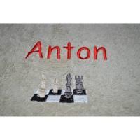 Handtuch Schach mit Namen Bild 1