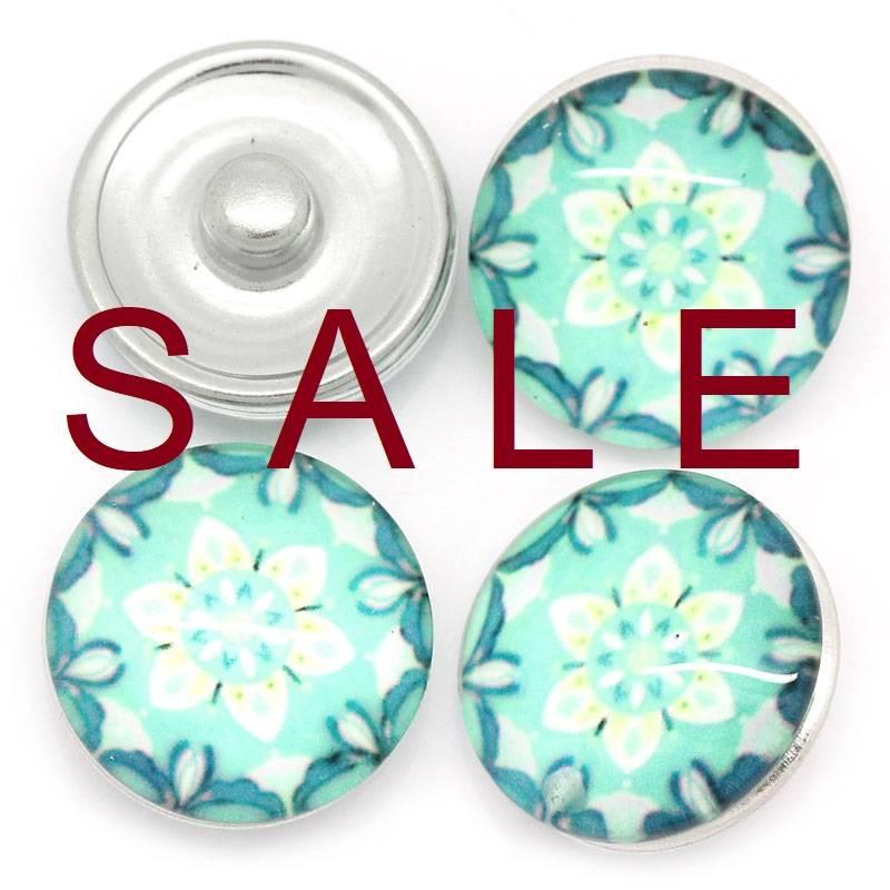 SALE! Druckknopf, Druckknöpfe, Button, Druckknopfbutton,Blume,  statt 2,99 Euro jetzt 0,60 Euro Bild 1