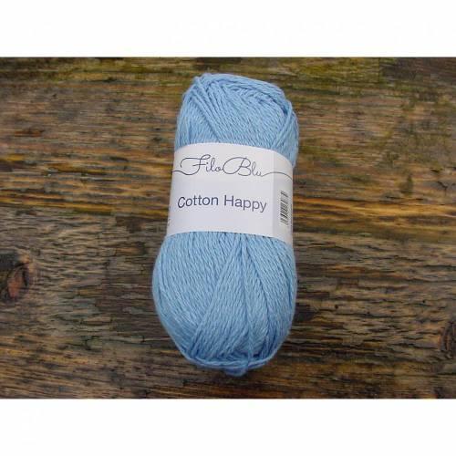 Strickgarn / Häkelgarn Cotton Happy von Filo Blue