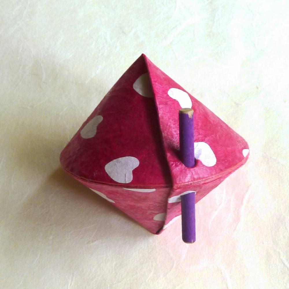 Ausgefallene Geschenkschachtel für Geld, Schmuck und Kleinigkeiten Bild 1