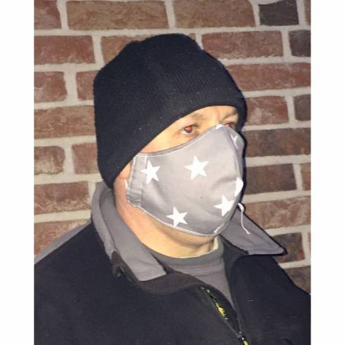 Behelfs - Mundschutz - Maske