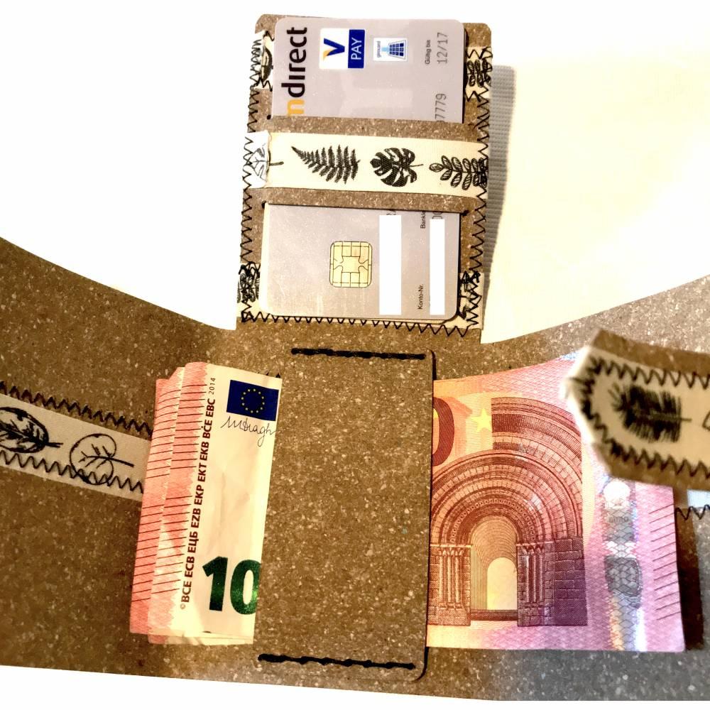 Minimalistisches Männer-Scheckkarten-Etui aus Releda - handmade Bild 1