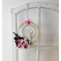 Fensterhänger, Reif mit Papagei, Türkranz, Fensterschmuck Bild 1